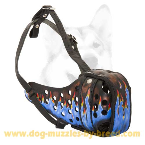 Attack training Muzzle with Adjustable straps