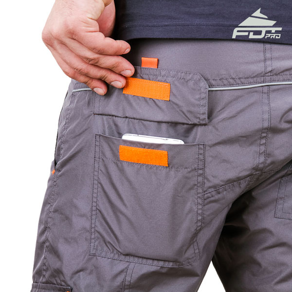 Comfortable Design FDT Pro Pants with Strong Back Pockets for Dog Trainers