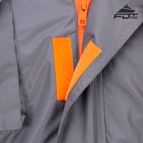 High Quality Velcro Fastening on Dog Training Jacket for Everyday Activities