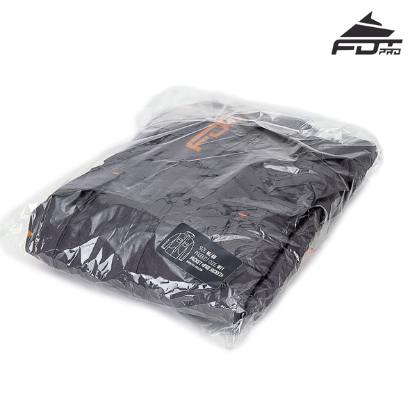 FDT Professional Dog Tracking Jacket with High Quality Velcro Patches