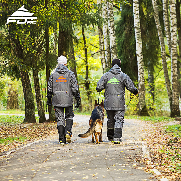 Pro Dog Trainer Jacket of High Quality for Any Weather Conditions