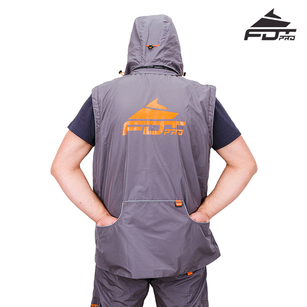 FDT Pro Dog Trainer Jacket with Back Pockets for your Comfort
