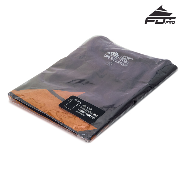 Filled FDT Professional T-shirt of Dark Grey Color