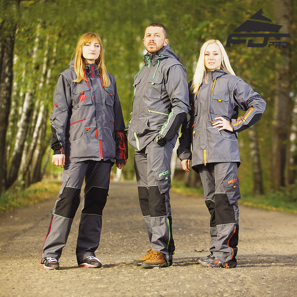 Durable Dog Training Suit for All Weather Conditions