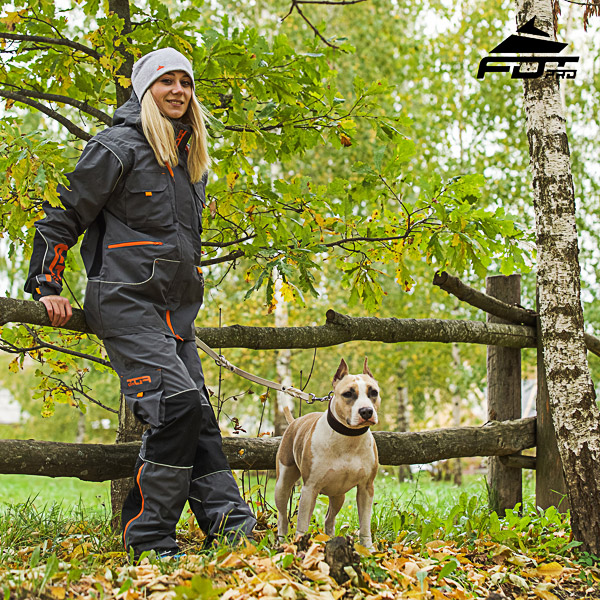 Comfortable Side Pockets on Unisex Design Pants for Active Dog Training