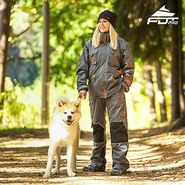 Unisex Design Dog Training Jacket of Quality Materials